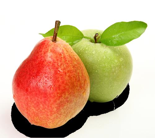 Pomme et poire